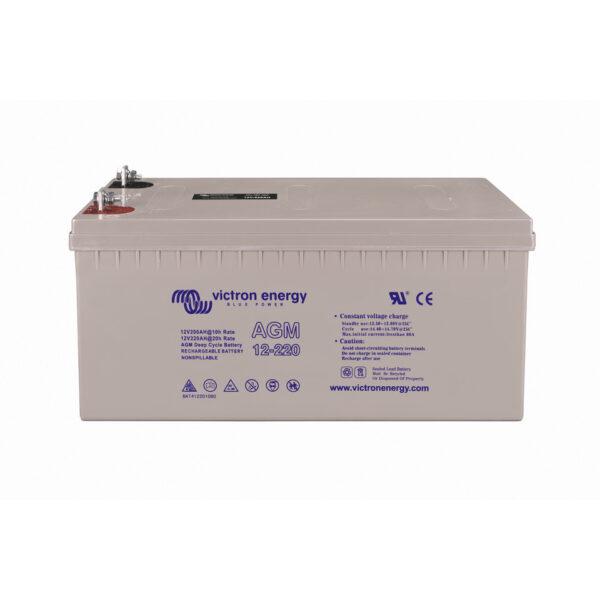 Victron Energy AGM Battery 12V/220Ah Deep Cycle (M8)