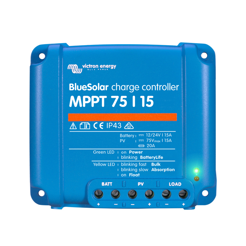 Victron Energy BlueSolar MPPT 75/15 Charge Controller