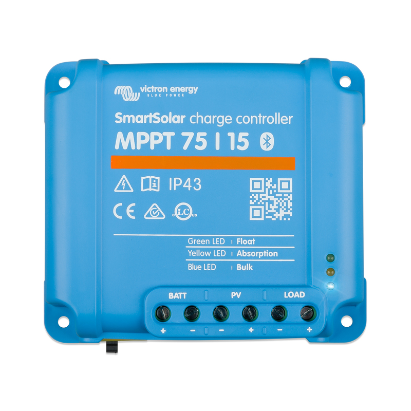 Victron Energy SmartSolar MPPT 75/15 Charge Controller with Bluetooth