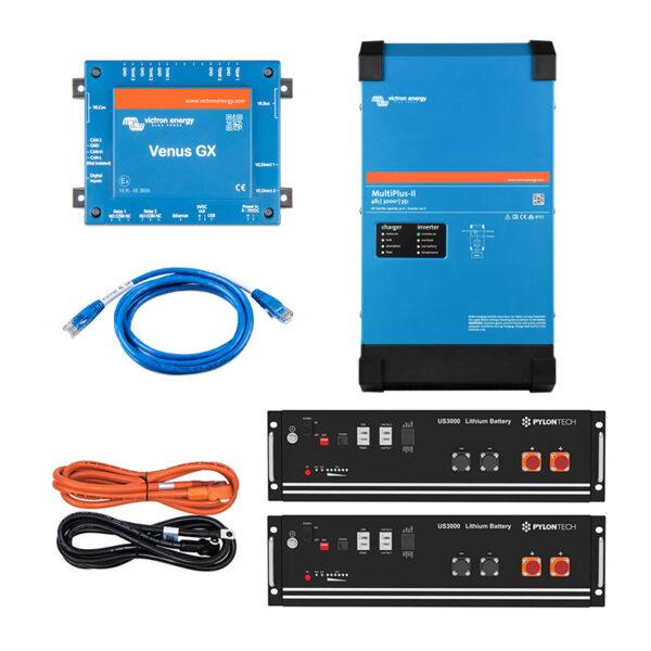 PowerOn.3 Lithium Energy Storage for Off Grid, Home, Van, Camper, Marine, Leisure