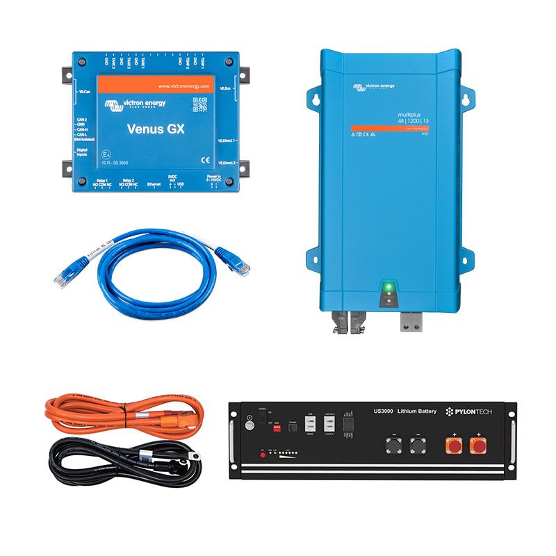 PowerOn.1.2 Lithium Energy Storage for Off Grid, Home, Van, Camper, Marine, Leisure