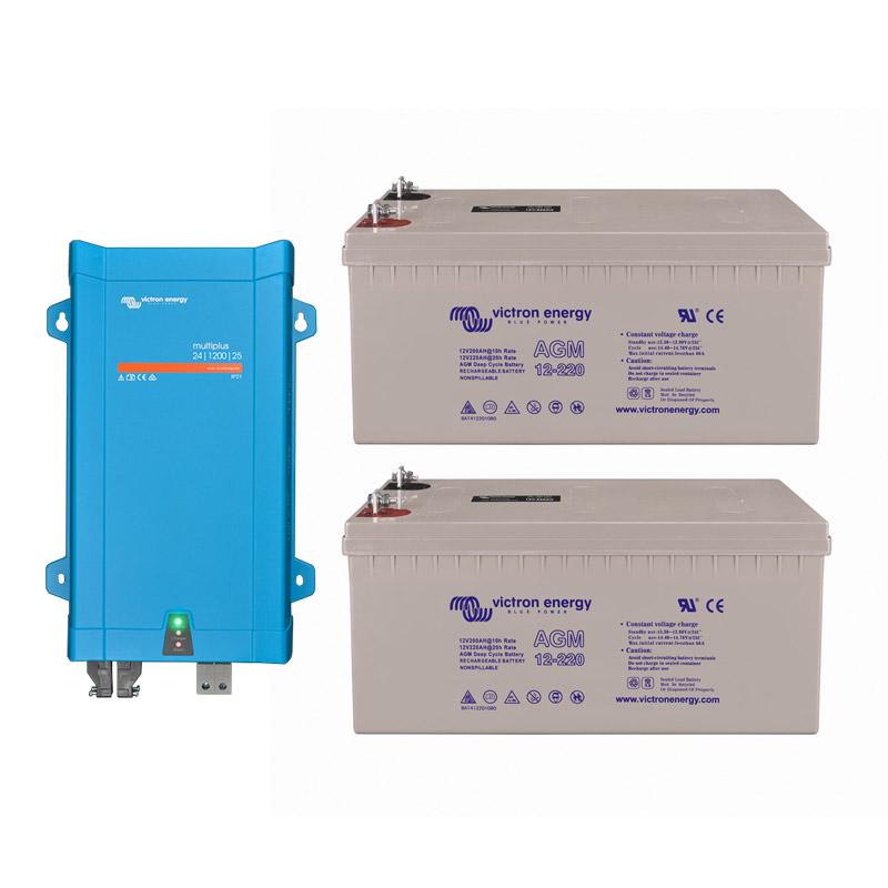 PowerOn.1.2 Lead Energy Storage for Off Grid, Home, Van, Camper, Marine, Leisure