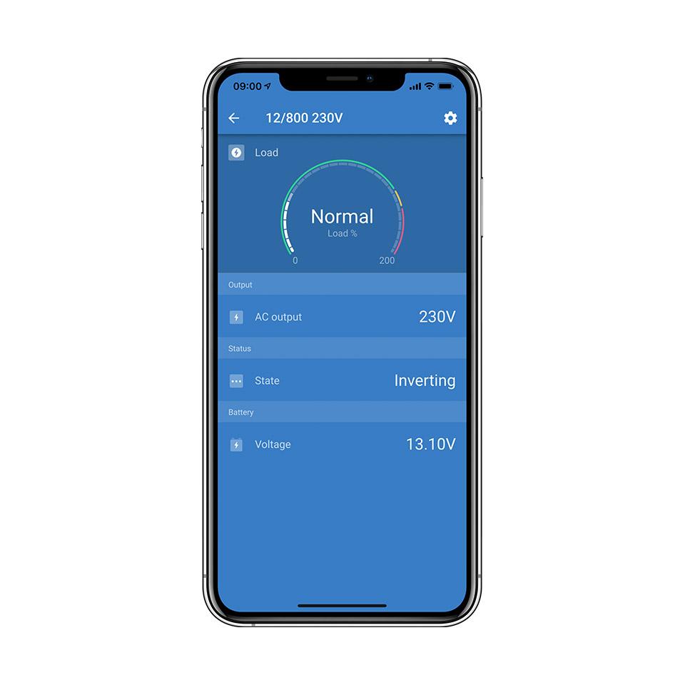 Phoenix Inverter Remote Control via Bluetooth App