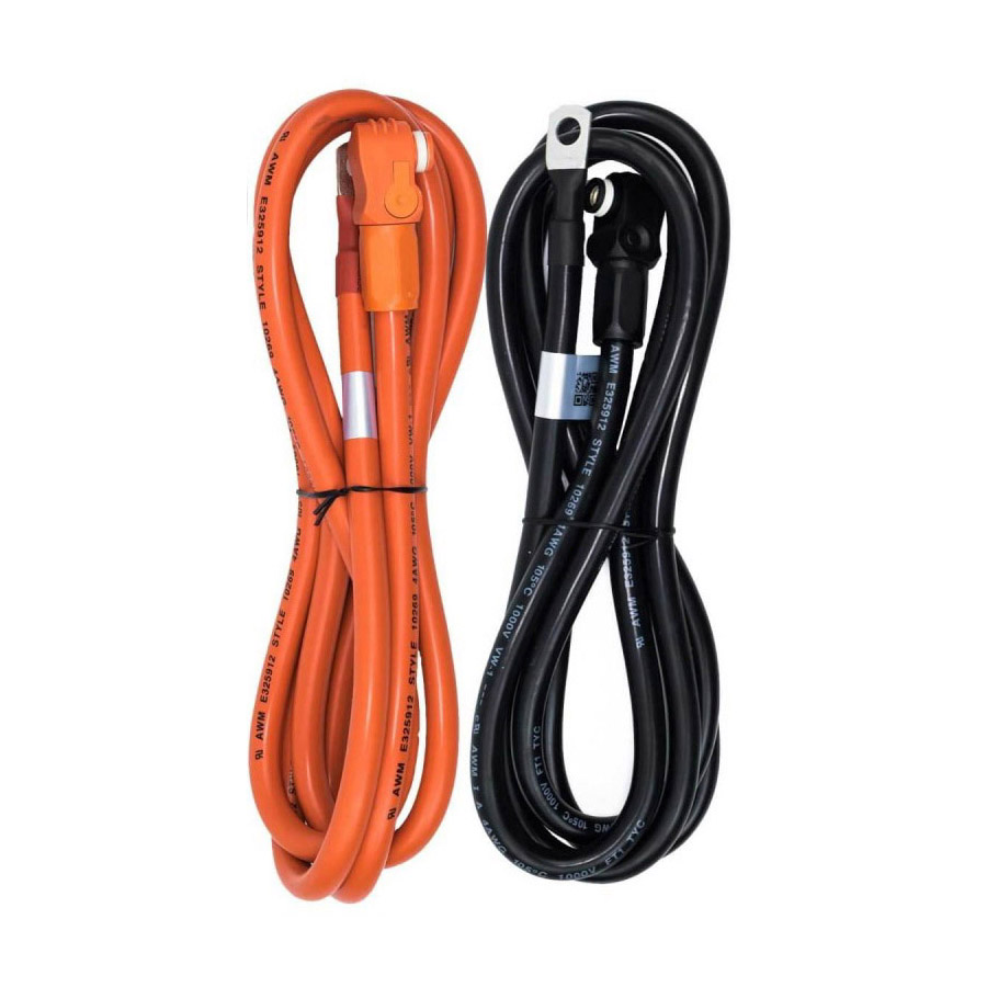 25sq DC Cables for Battery Pylontech US2000B/UP2500/US3000
