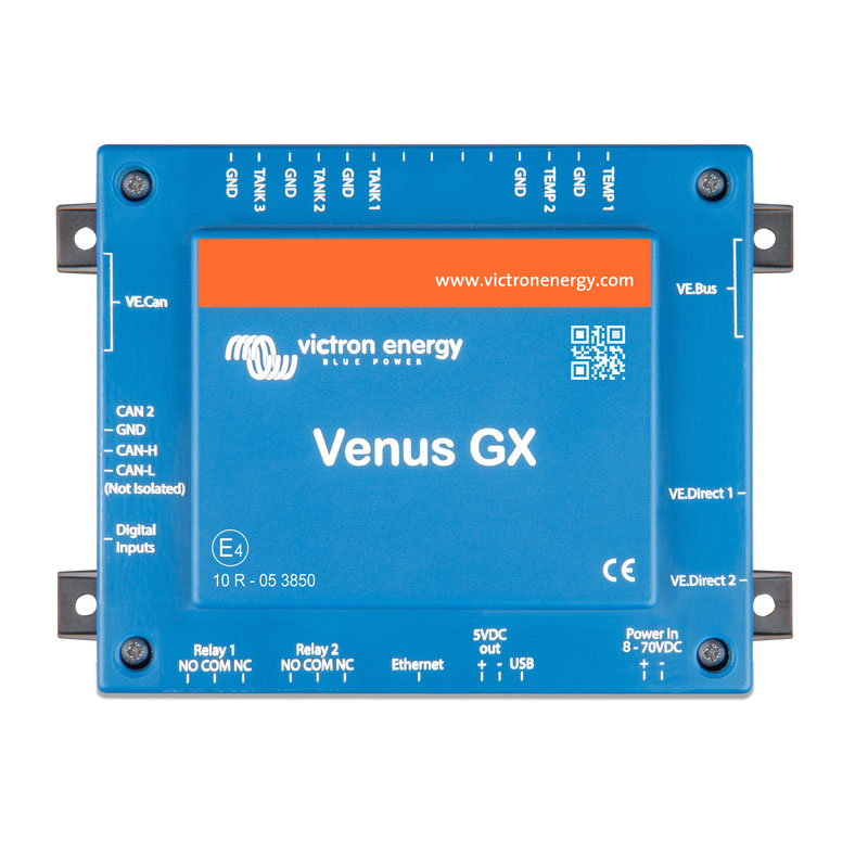 Victron Energy Venus GX Panels and system monitoring